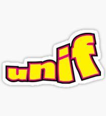 unif Sticker