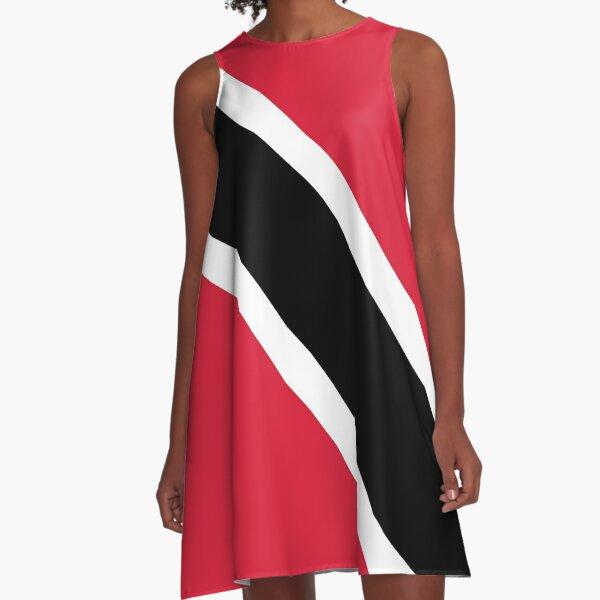 Drapeau de la Trinité-et-Tobago Robe trapèze