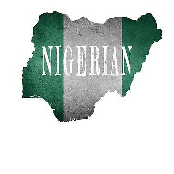 Nigerian ancestry african design by jhussar