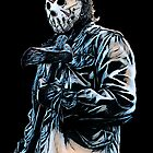 Friday the 13th- Jason Voorhees by American  Artist