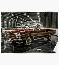 1966 Ford Convertible Poster