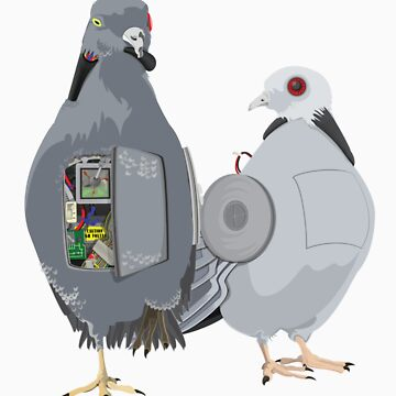 mechanical pigeons by pidgenhorn