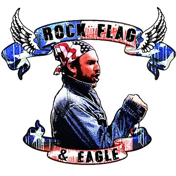 Rock, Flag and eagle by JTK667