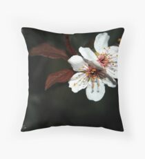 Blossom Beauties of the Night Throw Pillow