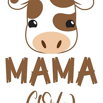 Mama cow with matching papa cow and baby cow by jazzydevil