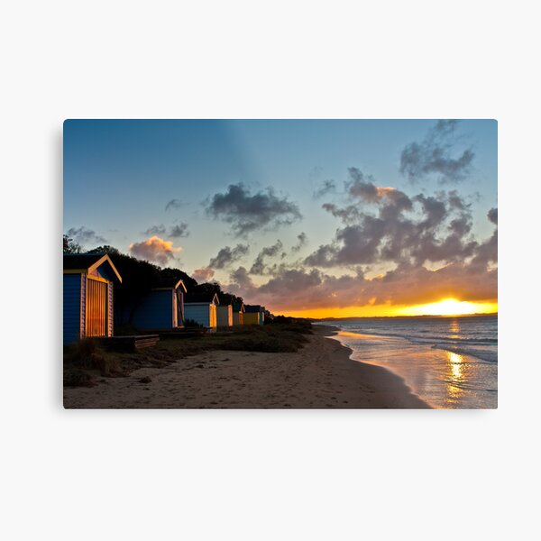 Tyrone foreshore at sunset #4 Metal Print