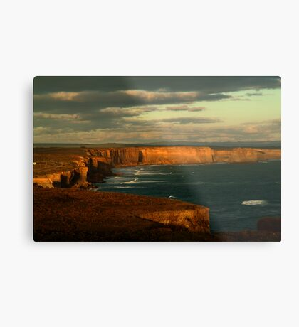 Port Campbell Coast Line,Great Ocean Rd Metal Print