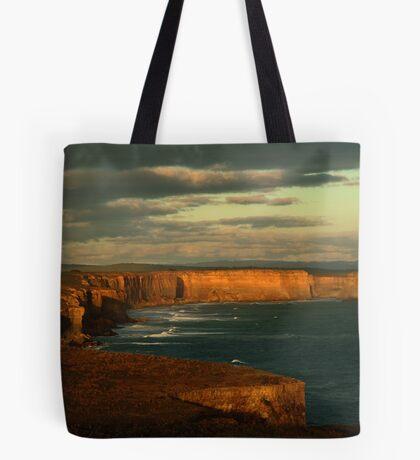 Port Campbell Coast Line,Great Ocean Rd Tote Bag