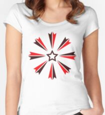 Star 20 Women's Fitted Scoop T-Shirt