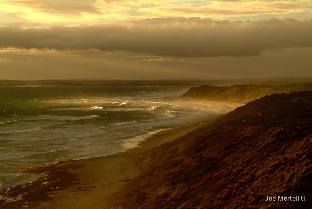 Sunburst 13th Beach,Bellarine Peninsula by Joe Mortelliti
