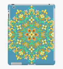 Multicolored  Ethnic Floral Kaleidoscope iPad Case/Skin