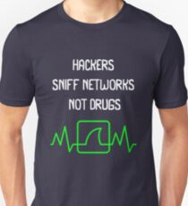 Hackers Sniff Networks Cyber Security Fun T-shirt Unisex T-Shirt