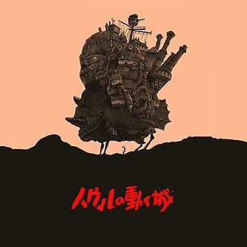 Studio Ghibli Howl's Moving Castle by limbo