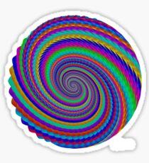 sdd Abstract Fractal 96G Sticker