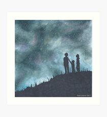 """Look Up""  Art Print"