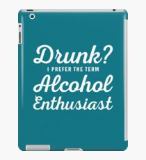 Alcohol Enthusiast iPad Case/Skin