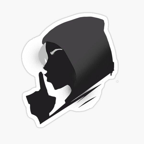 Shhh Sticker