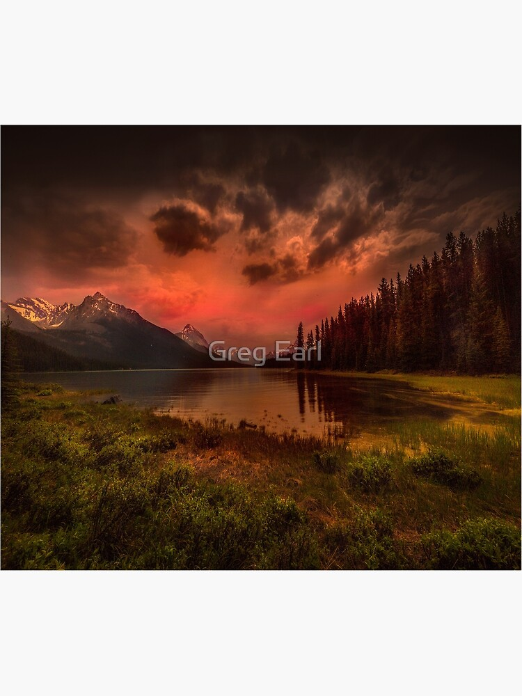 Maligne Lake, Canada by GregEarl