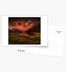 Maligne Lake, Canada Postcards