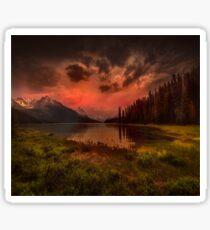 Maligne Lake, Canada Sticker