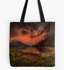 Maligne Lake, Canada Tote Bag