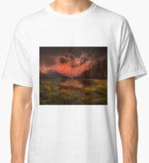 Maligne Lake, Canada Classic T-Shirt