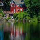 Red House Reflection by © Sophie W. Smith