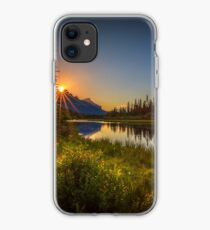 Bow River Setting Sun iPhone Case