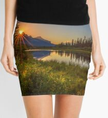 Bow River Setting Sun Mini Skirt