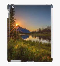Bow River Setting Sun iPad Case/Skin