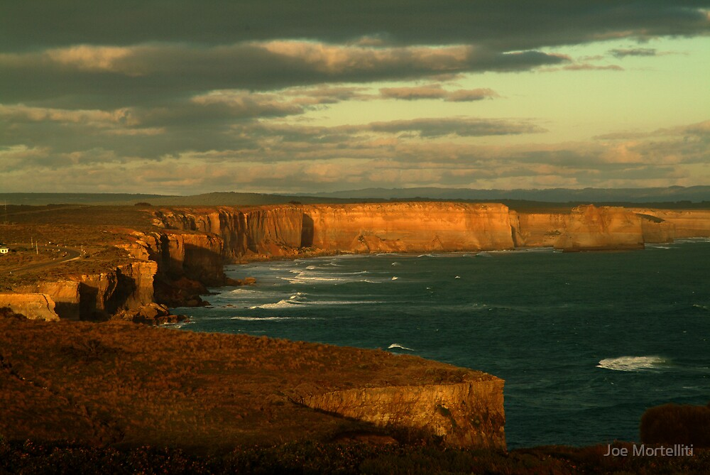 Port Campbell Coastline, Great Ocean Road by Joe Mortelliti