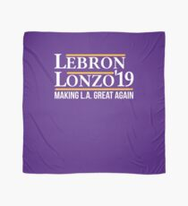 Lebron Lonzo Making L.A. Great Again Basketball T Shirt Scarf