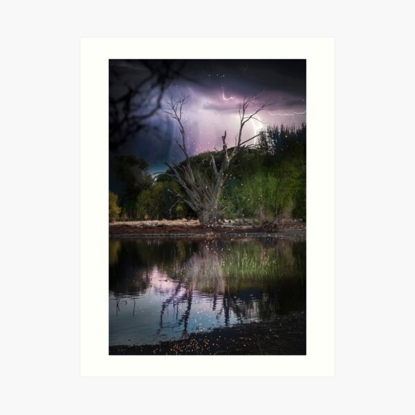 The Storm Sends a Gift... Art Print