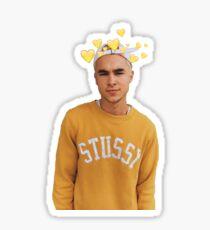 yellow kian lawley Sticker