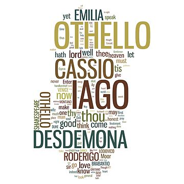 Shakespeare's Othello Wordplay by incognitagal