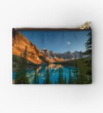 Moraine Lake - Canada Zipper Pouch
