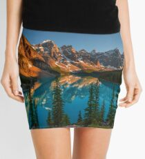 Moraine Lake - Canada Mini Skirt