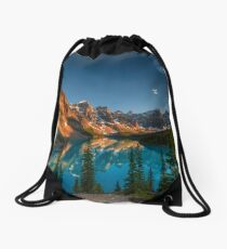 Moraine Lake - Canada Drawstring Bag