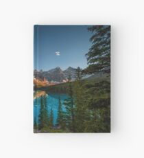 Moraine Lake - Canada Hardcover Journal