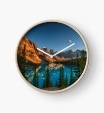 Moraine Lake - Canada Clock