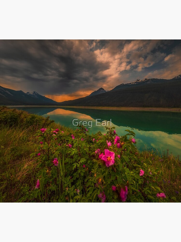 Medicine Lake - Canada by GregEarl
