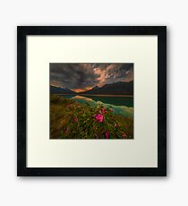 Medicine Lake - Canada Framed Print