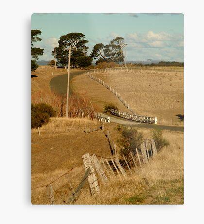 Coghill's Creek Bridge Metal Print