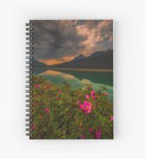 Medicine Lake - Canada Spiral Notebook