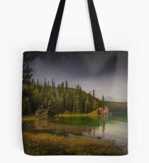 Maligne Lake - Canada Tote Bag