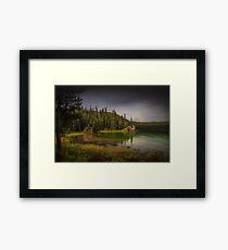 Maligne Lake - Canada Framed Print