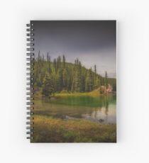 Maligne Lake - Canada Spiral Notebook