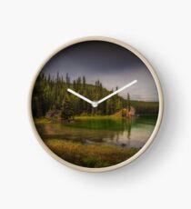 Maligne Lake - Canada Clock