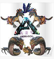 Ark Survival evolved Aberration  Poster