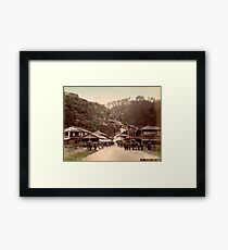 Nunobiki Yama, Japan Framed Print